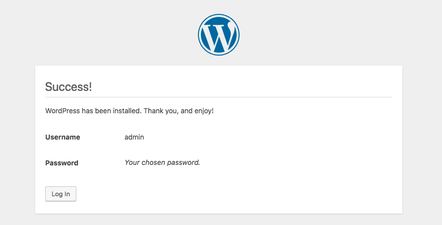 WordPress-instalado