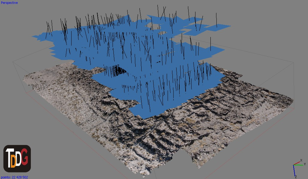 La Fotogrametría es la técnica de registro 3D más usada en el campo del Patrimonio