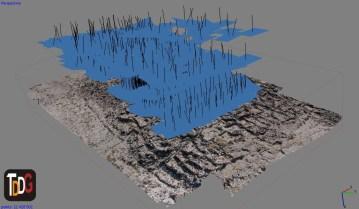 Nube de puntos con UAV