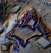 "MDT analizado por medio de ""Resampling filter"" en SAGA-GIS"