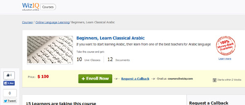 Arabic (for beginners)