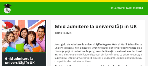 Ghid de admitere la universități din UK
