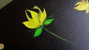 Wedge brush flower