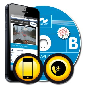 Auto Theorie CD-ROM + 10 mobile quick snap examens