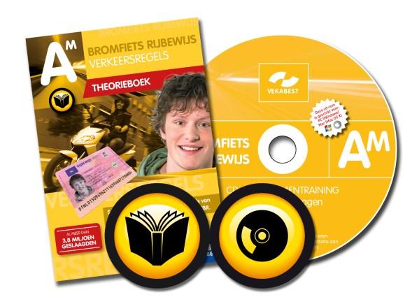 Brommer theorieboek + CD-ROM