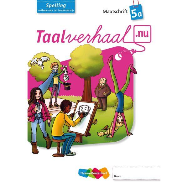 Maatschrift spelling 5A, Taalverhaal.nu