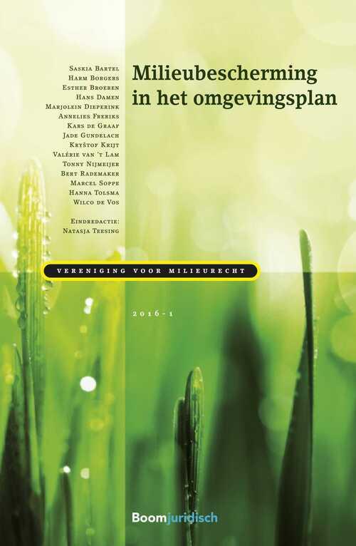 Milieubescherming in het omgevingsplan - eBook (9789462746671)