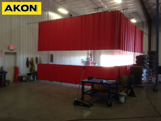 Vinyl Curtain Walls  Akon  Curtain and Dividers