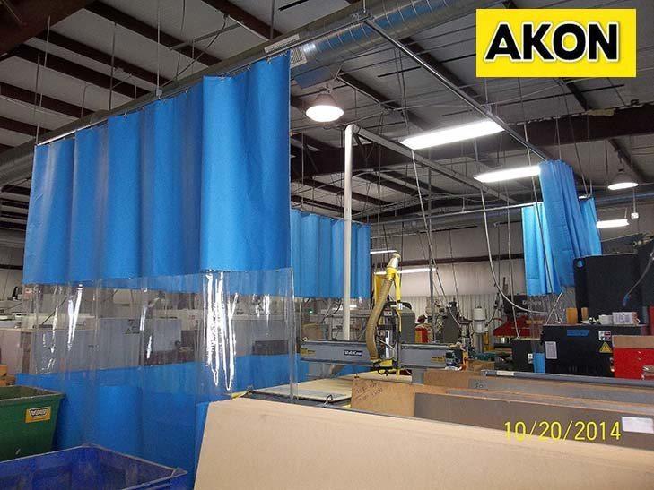 Shop Divider Curtains Akon Curtain And Dividers