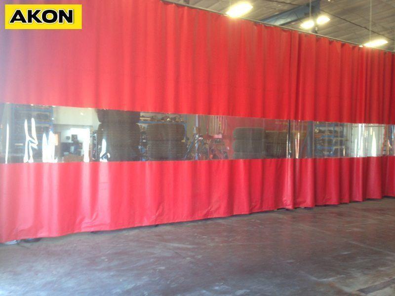 Warehouse Curtain Walls  Akon  Curtain and Dividers