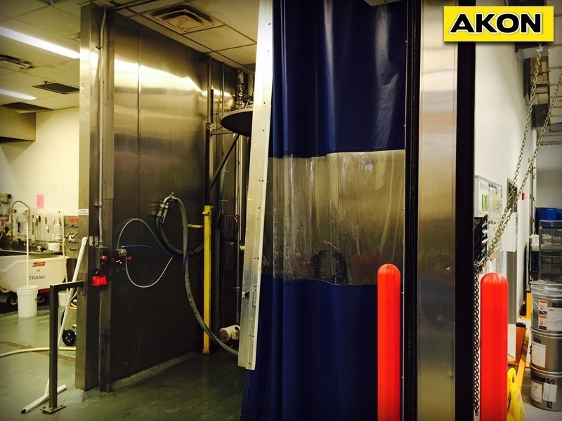 Industrial Wash Bay Curtains  Akon  Curtain and Dividers