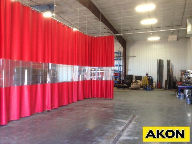 Industrial PVC Curtains  Akon  Curtain and Dividers