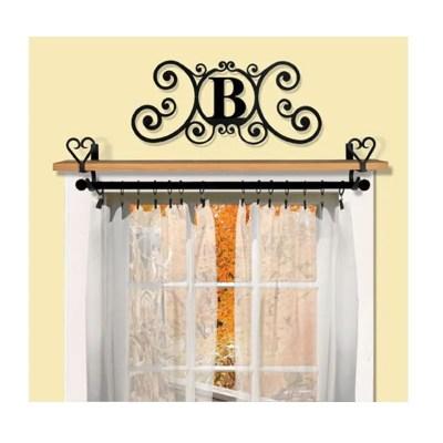 Heart-Curtain-Brackets