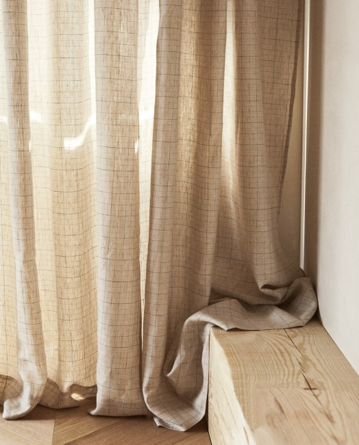Suggestions For Decorating Linen Curtains, Use Of Linen Tulle, Models **2021 Curtain
