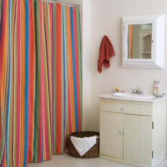 Colorful Pattern Curtain For Your Bathroom Find the Best - Color Choices Curtain