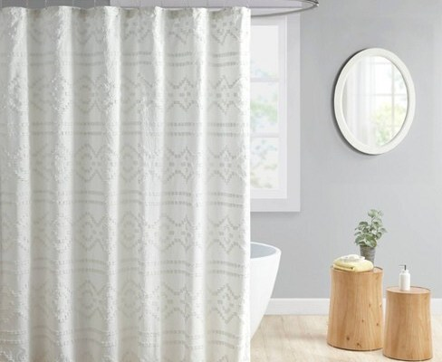 Jacquard Shower Curtain, How to Choose  **2021 Liner Curtain Shower Curtain