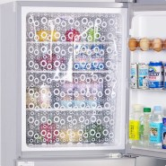 Easy To Install Refrigerator Curtain Options Curtain