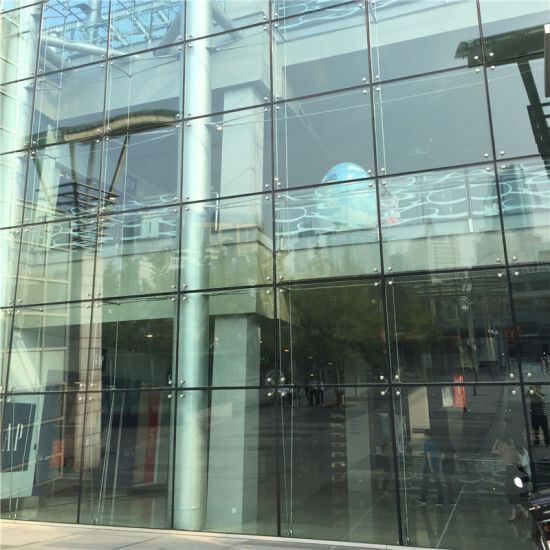 Frameless-Structural-Glass-Curtain-Wall-Facade-Aluminum-Mullionless-Spider-Sealant-Silicone-Double-Glazed-System