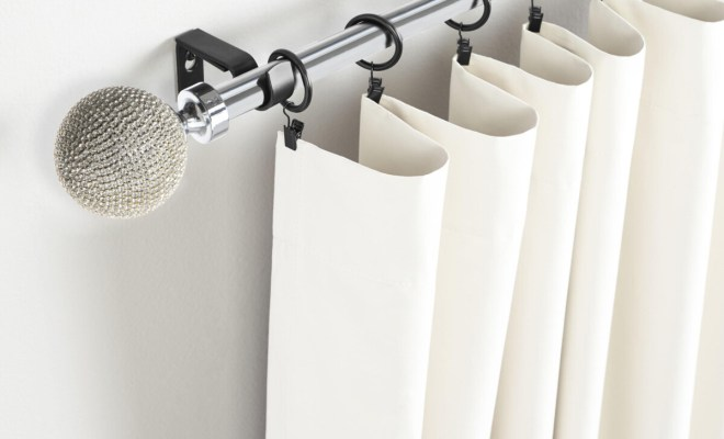 Decorate Your Home With Bling Curtain Rods Curtain Rod Curtain