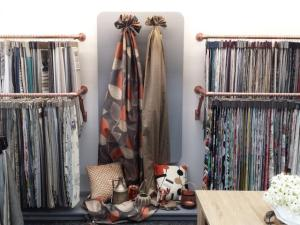 See our curtain fabrics  in store.