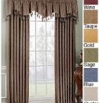 valances +curtains
