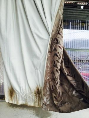 Mum's nice curtains. Call Curtain Clean.
