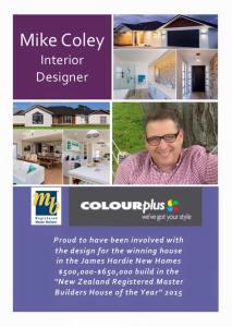 Mike Coley Interior Designer.