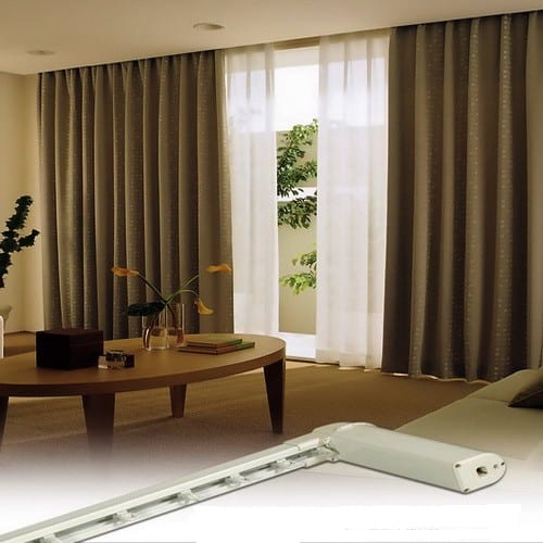 Motorized Curtains Dubai 5 Years Remote And Motor Warranty