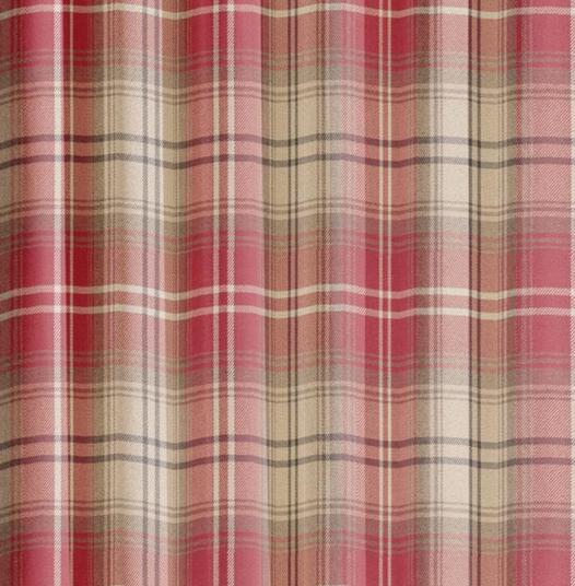 Tartan Check Kirkwall Curtains  Curtains At Home