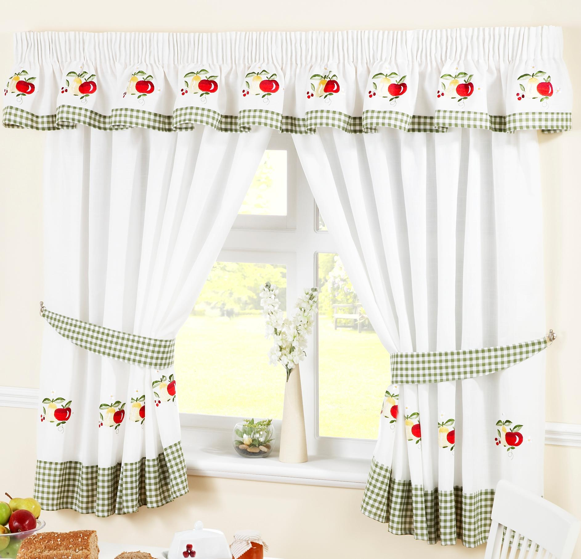 fruit kitchen curtains pantrys at home