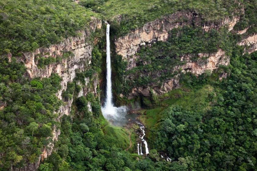 Salto do Itiquira: a maior cachoeira do Centro-Oeste fica em Goiás a 280 km  de Goiânia - Curta Mais