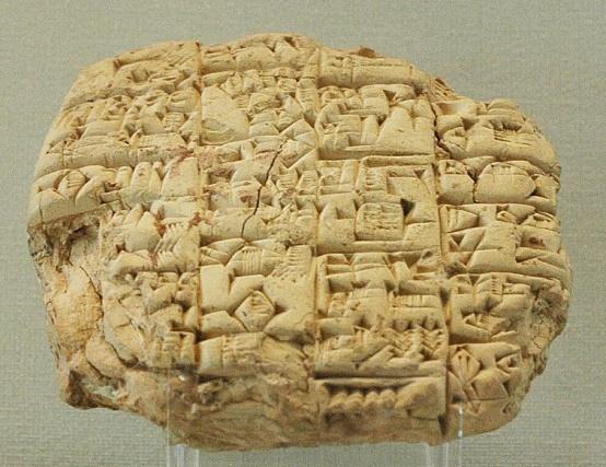 Inscripție în limba sumeriană