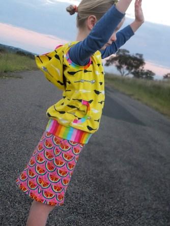 LKC Peekaboo Pocket sleeveless hoodie