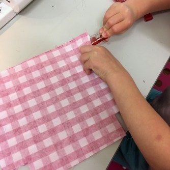 clipping the lining