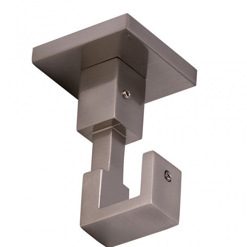 support plafond carre pour tringle en acier d20