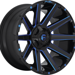 Contra Gloss Black Milled Blue D644