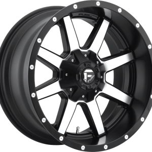 Maverick Matte Black Machined D537