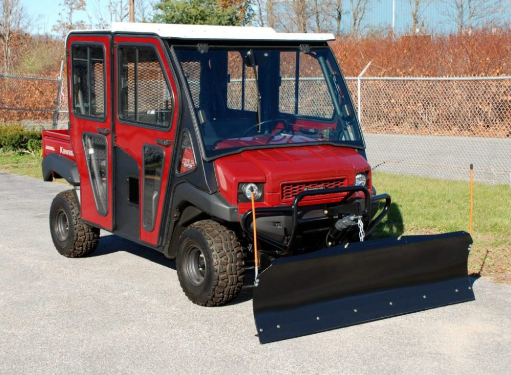 medium resolution of kawasaki mule all steel adjustable plow