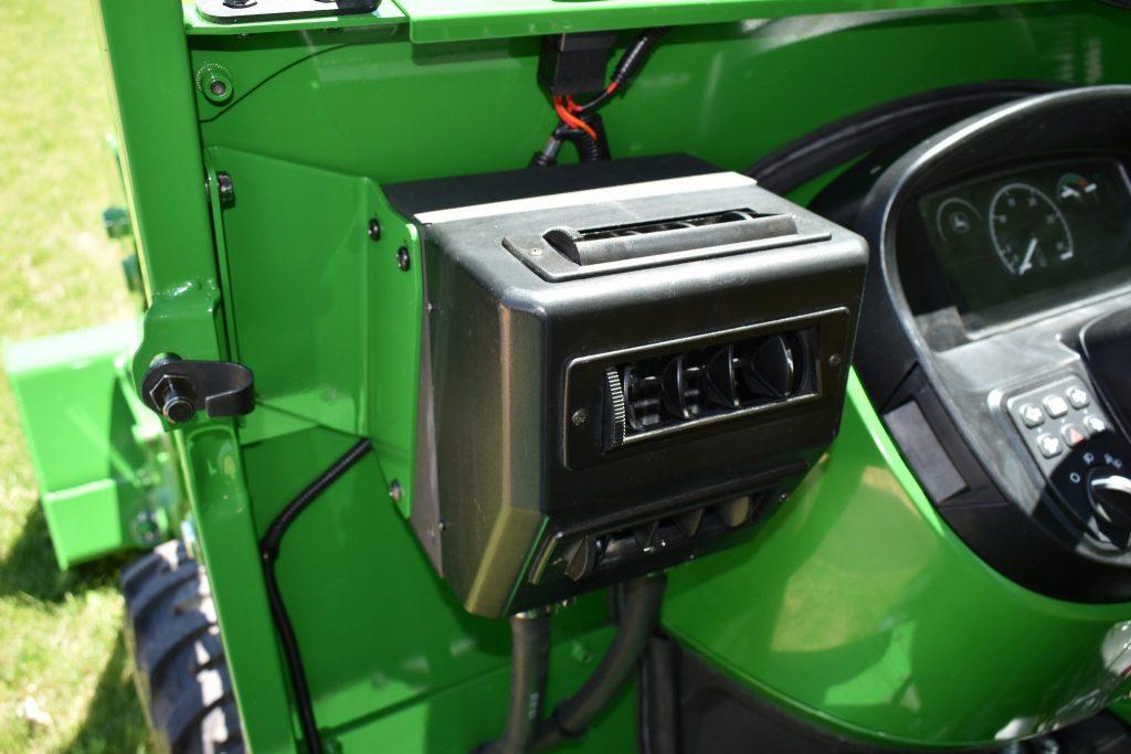 hight resolution of heater john deere 3e cab