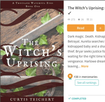 The Witch's Uprising on Wattpad