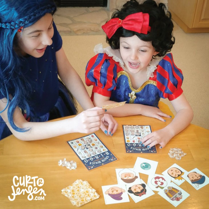 Printable Snow White Bingo by Curt R. Jensen