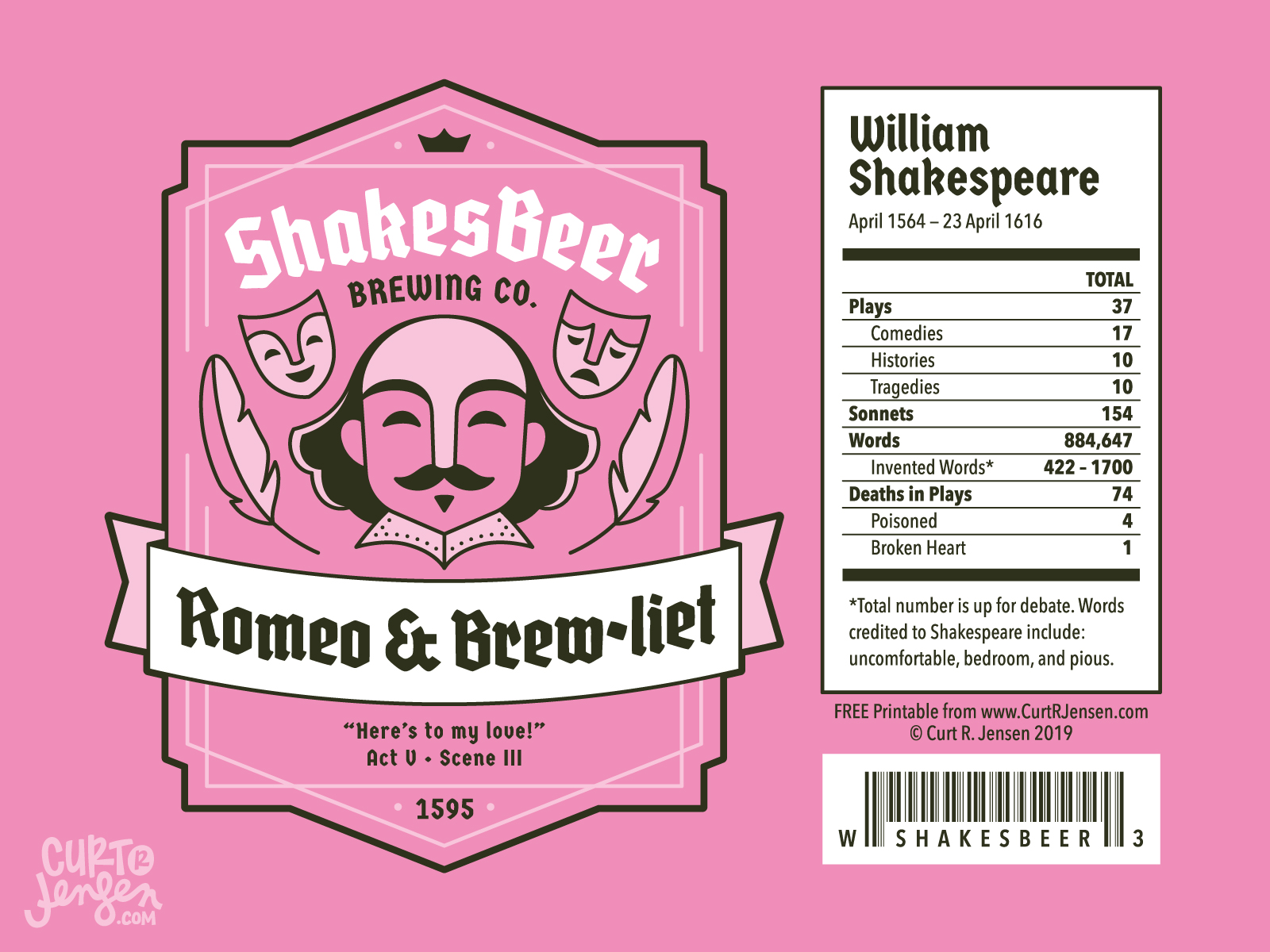 Romeo & Brewliet - ShakesBeer Brewing Co.