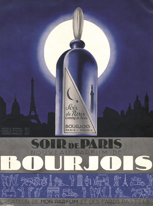 1928 Soir de Paris - About the brand... Bourjois!