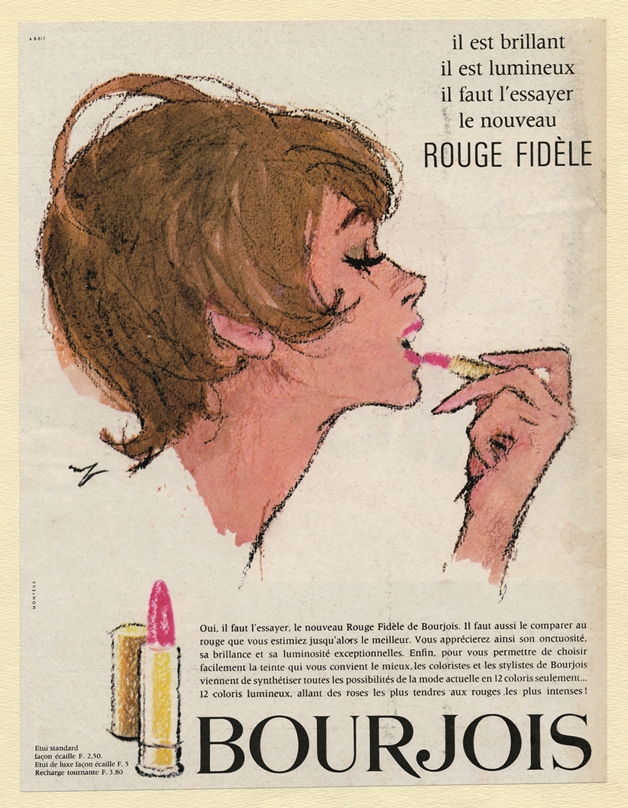 1964 Rouge fidele - About the brand... Bourjois!