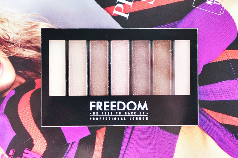 freedom makeup london pro shade brighten shimmers kit