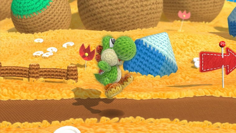 yoshis woolly world 5 - Nintendo Wii U Yoshi's Woolly World