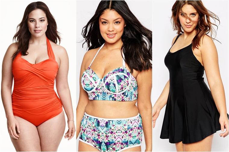plussize zwemkleding tips 3 - Plussize inspiratie | 10 x badpakken, bikini's en tankini's
