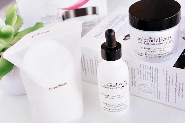 philosophy the microdelivery overnight anti aging peel 5 - philosophy | the microdelivery overnight anti-aging peel