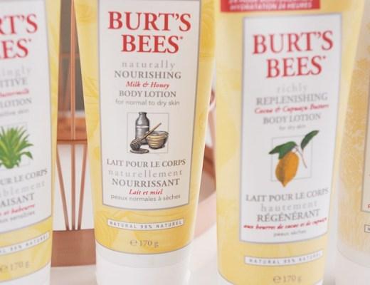 burt's bees bodylotion