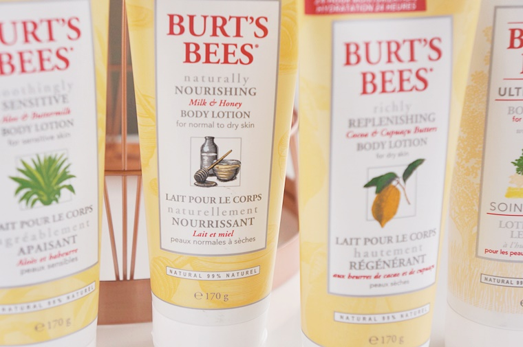 burts bees bodylotion 1 - Wintertip! | Burt's Bees bodylotion